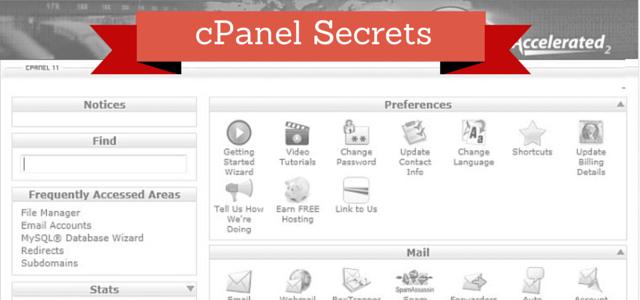 cPanel Secrets